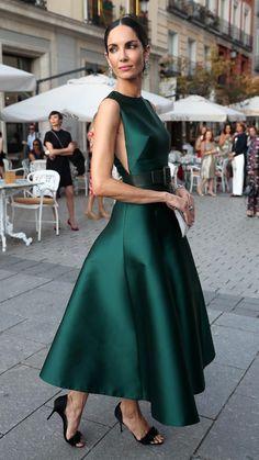Sexyher Ladylike Applique A-Line Sleeveless Wedding Dress - - Ideal Wedding Ideas Elegant Dresses Classy, Classy Dress, Evening Dresses, Prom Dresses, Formal Dresses, Wedding Dresses, Chic Summer Outfits, Emerald Green Dresses, Quoi Porter