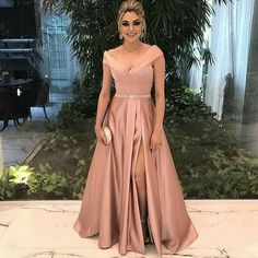 Beautiful Prom Dress, v neck bridesmaid dress champagne bridesmaid dress long formal dress satin prom gowns sexy prom dresses Meet Dresses V Neck Prom Dresses, A Line Prom Dresses, Cheap Prom Dresses, Quinceanera Dresses, Satin Dresses, Evening Dresses, Prom Gowns, Party Dresses, Formal Gowns