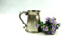 Vintage tankard. Vintage mug. Vintage beer by VintageLittleGems