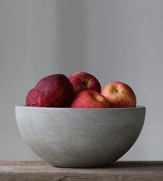 Concrete Fruit Bowl by Roughfusion on Scoutmob Shoppe