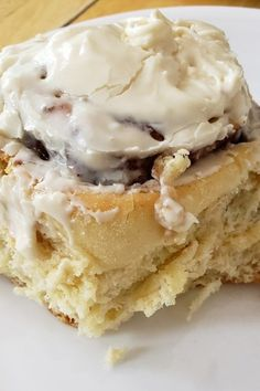 "Clone of a Cinnabon | ""They're really good and have made me a popular gal at potlucks and brunches."" #copycat #copycatrecipes Clone Of A Cinnabon Recipe, Breakfast Recipes, Dessert Recipes, Desserts, Baked Rolls, Dessert For Two, Cinnamon Cream Cheeses, Brunches, Potlucks"