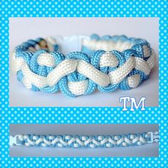 Up in the Sky Paracord Bracelet by ThrowinWristicuffs on Etsy, $7.00