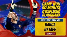 Tickets FCB - Getafe #FCBarcelona #Tickets #CampNou #Game #Match