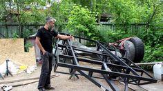 Фундамент для дома на колесах - шасси от Ателье прицепов Багем. Караван ...