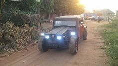 This Young Nigerian Engineer Manufactures Jeep in Imo State from Scratch (Photos)   A super intelligent Nigerian engineer has built a look-alike wrangler jeep in Owerri from scratch. The man identified as Alex Ephraims showed off his latest asset to the commissioner of Police in Imo state who stood in awe over the product.  Here is how Aguocha Chinwendum shared the story online.  We are no more hiding the sun finally is risen when we are still celebrating INNOSON motors here is another one…