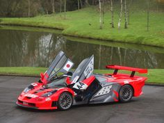 Rare McLaren GTR Longtail - Chassis - Lark Racing Livery - The first Longtail to ever win a race converted for road use by Lanzante McLaren Specialist. Mclaren Gtr, Mclaren Sports Car, Exotic Sports Cars, Exotic Cars, Gt Cars, Race Cars, Gtr For Sale, Mc Laren, Car And Driver