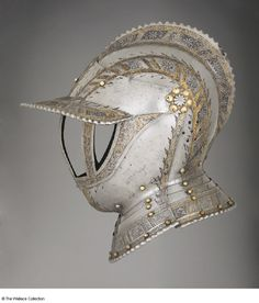 German helmet c. 1550-1560- many more at the link