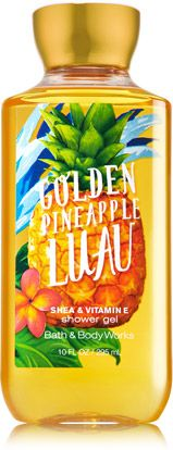 GOLDEN PINEAPPLE LUAU SHOWER GEL - Signature Collection - Bath & Body Works