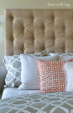 DIY Tufted Headboard Tutorial – Part Two