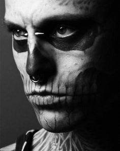 TattooSet - All-in-One Place for Tattoo Designs Rick Genest, Places For Tattoos, Zombie Girl, Boy Tattoos, Cover Tattoo, Canadian Artists, Tattoo Designs, Halloween Face Makeup, Boys