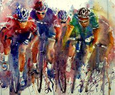 watercolor Gerard Hendriks