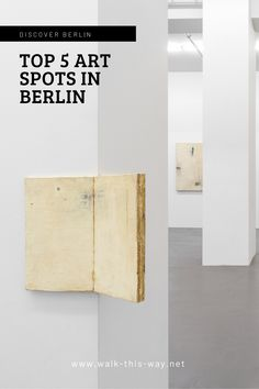"To go beyond the tourist-filled sites and tour Berlin like a Berliner. You are seeing it for the very first time, check out my ""Top 5 art places, where you don't expect it"", Berlin's hidden art spots. #berlin #art #artberlin #artplaces Berlin Things To Do In, Fabric Covered Walls, Hidden Art, Berlin Art, Gem Crafts, Everything Is Possible, Exhibition Space, Berlin Germany, The Conjuring"