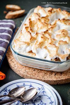 {Dessert} Gebackenes Eis mit Portwein-Feigen und Cantuccini | GourmetGuerilla.de