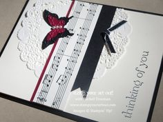 This striking card and more great card ideas using products from Stampin' Up!® - Stamp Your Art Out! www.stampyourartout.com