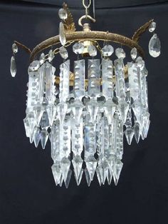 110 best victorian crystal chandelier images on pinterest victorian style chandeliers sale lighting chandeliers circa 1930 beautiful victorian aloadofball Image collections