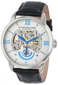 Stuhrling Original 574.01 EXECUTIVE II Automatic Skeleton Watch For Men