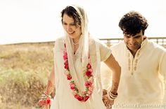 hindu flowers for man wedding | Loverly Weddings