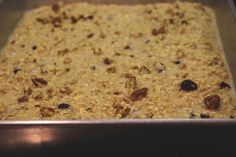 Baked oatmeal: the perfect make-ahead breakfast or snack! | The Gray Boxwood