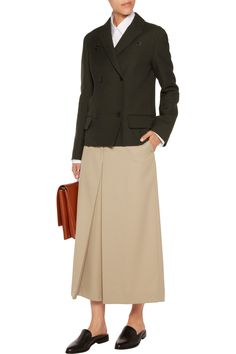 Shop on-sale Jil Sander Wool-twill jacket . Browse other discount designer Jackets & more on The Most Fashionable Fashion Outlet, THE OUTNET.COM