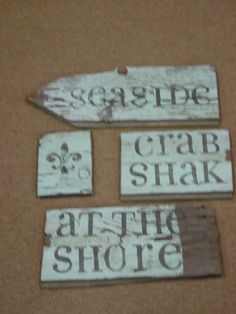 used wooden fence crafts | And I've still got FOUR of those wonderful old blue boards to make ...