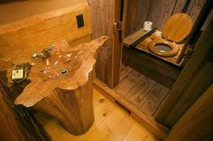 perfect toilet for the cabin