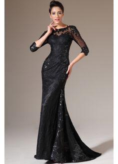 večerní plesové šaty s krajkou - Hledat Googlem