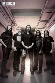 Dream Theater, photographed backstage in Brussels just before their show at forest national - vorst nationaal last week. Photo © Tim Tronckoe 2016, All rights reserved.