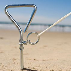 Beach tent anchor - or for the market canopy!!