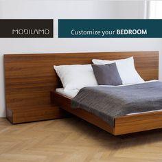 Die Schlafzimmermöbel von MOBILAMO können ganz nach den eigenen Wünschen konfiguriert werden. Du kannst ganz einfach online dein Bett, eine Kommode oder Beistelltische selbst gestalten.   Du bestimmst die genauen Maße, das Design, die Materialien und die Ausstattung und wir fertigen dein Wunschmöbel nach Maß für dich an und liefern es zu dir nach Hause. So kannst du ganz einfach dein Schlafzimmer mit perfekten Möbeln gestalten.