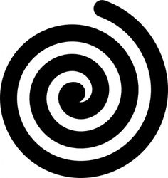 Free download Graphic Spiral Clipart for your creation.
