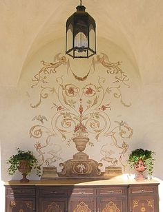 1 of 8 room photosAmy's Brentwood estate exterior decorative painting - by Valerie Freeman, Fine Artist, Designer, Curator