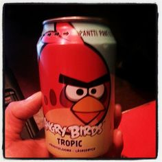 "Angry Birds soda is the best selling drink in Finland – ""Ahead of Coke and Pepsi"""