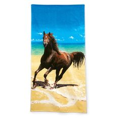 Beach Run Towel - Englewood beach Western Wear, Equestrian Inspired Clothing, Jewelry, Home Décor, Gifts