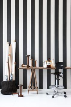 Ferm Living behang / wallpaper. Vertigo