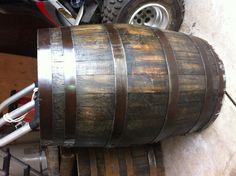 Bourbon barrel fully finished.  Www.fromabarrel.com