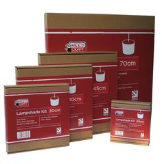 Make your own lampshades with our easy-to-use DIY kits.  Add your own fabric or wallpaper and follow the instructions in the box, it's that easy.  Needcraft kits make professional lampshades which can be used all around the home to match any colour or any room theme.  Use them as pendants or with table lamps.   Regularly used by professional tradespeople in the soft furnishing industry to co-ordinate lighting with their interiors and projects.