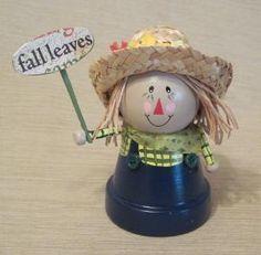 Clay Pot Scarecrow by pingan