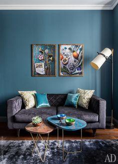 Яркий интерьер квартиры в Москве от дизайнера Жени Ждановой   AD Magazine
