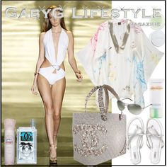 GabyG @ The Lodge K Pool w/ GGG, created by gabyg on Polyvore
