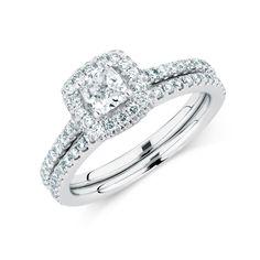 The Michael Hill Designer Bridal Collection 1.64 carat diamond Allegro bridal.