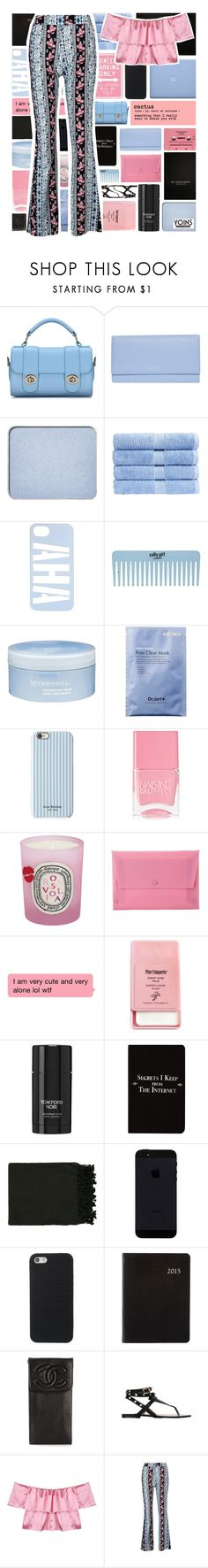 """YOINS"" by xgracieeee ❤ liked on Polyvore featuring Smythson, shu uemura, Christy, Aveda, Isaac Mizrahi, Nails Inc., Diptyque, MANGO, Pier 1 Imports and Tom Ford"