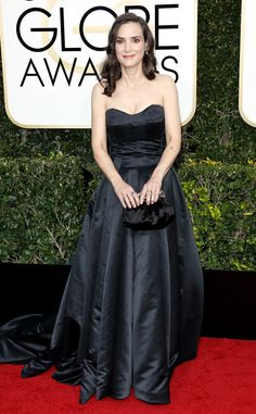 Winona Ryder at the 74th Annual Golden Globe Awards at The Beverly Hilton Hotel on January 8, 2017 in Beverly Hills, California.