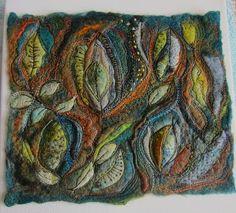 So much here - felt, silk paper making tut, machine embroidery tut,  . . . you get the idea!