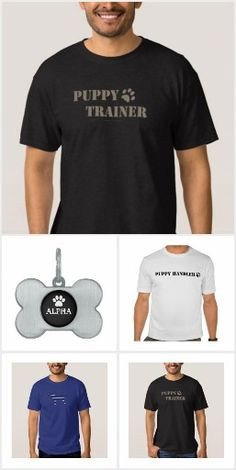 Customisable so you can add your own text, change style/colour of the product etc. Puppy Trainer, Puppy Play, Pet Stuff, Puppies, Change, Colour, Pets, Collection, Style