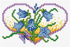 BLOG  flower hearts - bluebells - Simulation