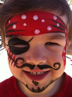 pirate face painting | Face Painting & Body Art