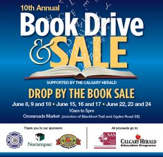 Come to the Herald Book Sale! It's going to be amazing!