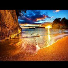 Pic For Canvas Sunrises Beautiful Sunrise Scenery Sites Beaches