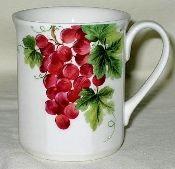 Royal Doulton Vintage Grape Tall Mugs
