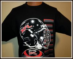VINTAGE 2001 XFL KICK OFF TOUR T-SHIRT ADULT LARGE NEW WITH TAG FREE SHIPPING